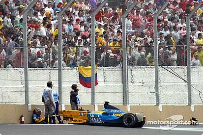 Retro - De crashes van Fernando Alonso