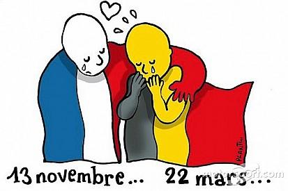 Pilotos se solidarizam com vítimas de atentados em Bruxelas
