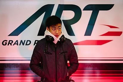 Fukuzumi topt eerste dag GP3 test Estoril