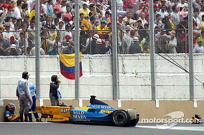Fernando Alonso: sus peores accidentes en Fórmula 1, en fotos