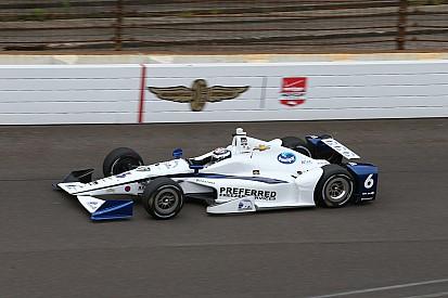 JR Hildebrand alla 500 Miglia di Indianapolis con la Ed Carpenter Racing