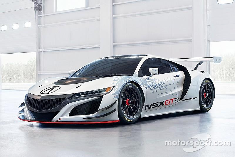 La Acura presenta la NSX GT3