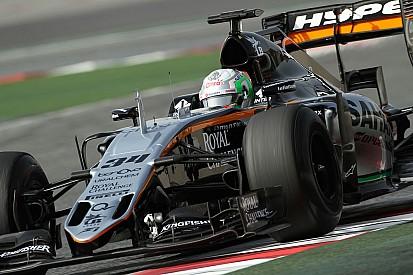 Alfonso Celis Jr au volant chez Force India en EL1