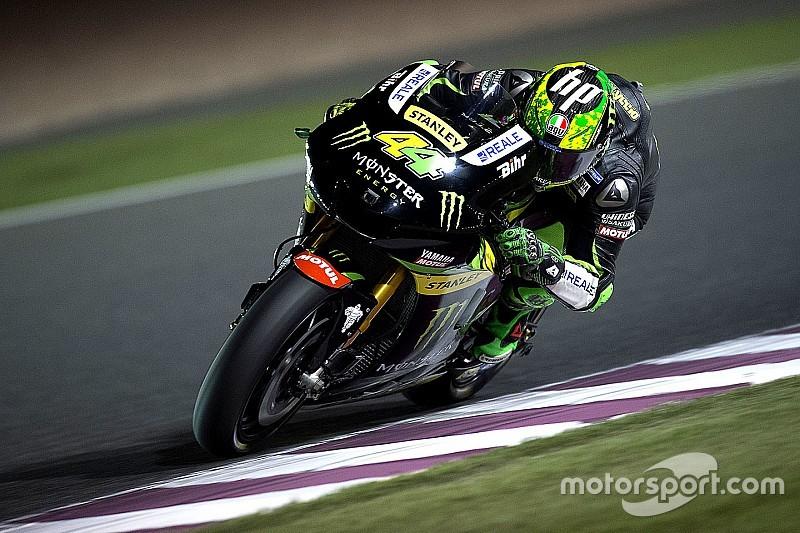 Пол Эспаргаро вслепую провел последние круги гонки в Катаре