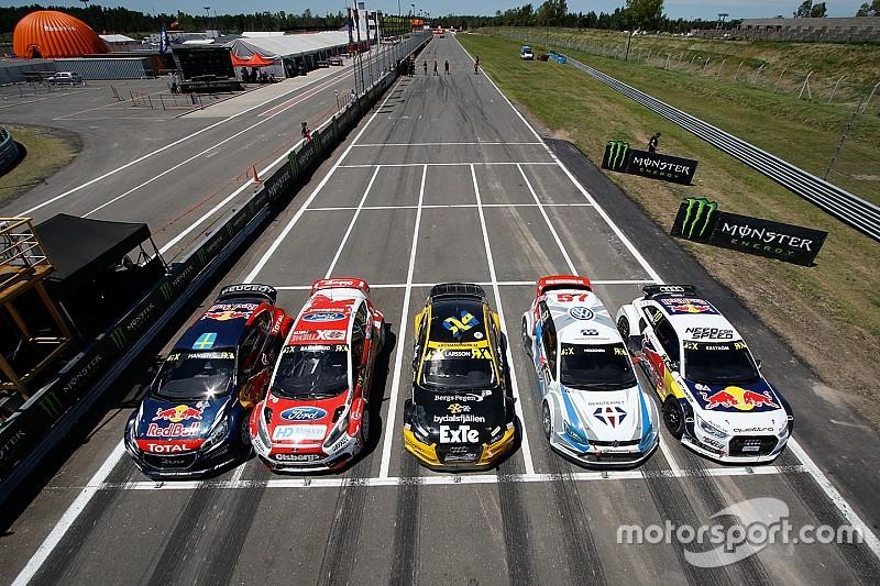 17辆赛车参加2016年世界跨界拉力锦标赛(WRX)