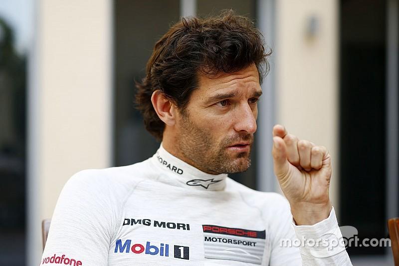 """Webber - La domination de Porsche """"pourrait être terminée"""""""