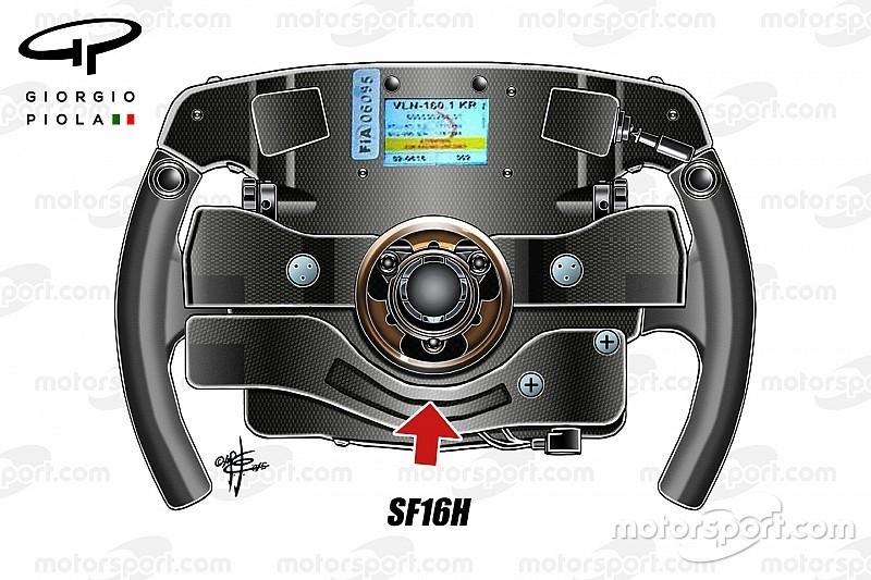 Análisis técnico: La clave de las meteóricas salidas de Ferrari puede estar en el volante