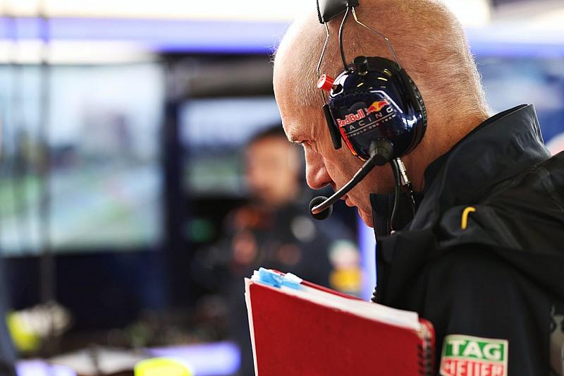 Newey va commencer à travailler sur la Red Bull de 2017