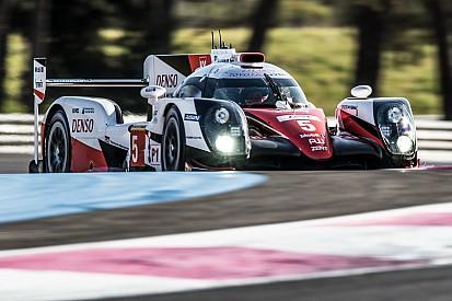 Toyota a testé son package Le Mans au Castellet