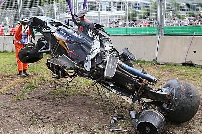 Alonso a bel et bien perdu un moteur