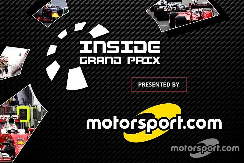 """Motorsport.com estende acordo de direitos digitais do """"Inside Grand Prix"""""""