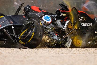 Le siège d'Alonso s'est fissuré dans l'accident de Melbourne