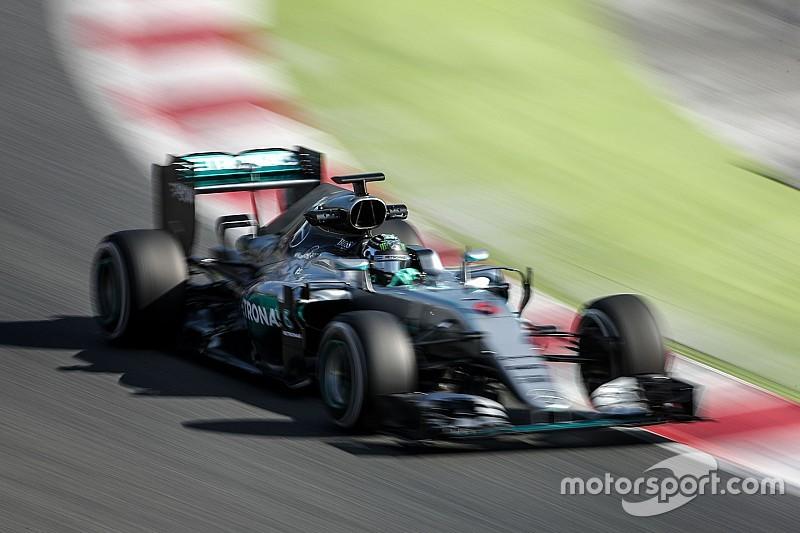 Inquiétudes autour de la vitesse en virage des F1 2017