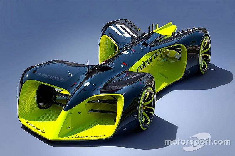 Roborace onthult coureurloze conceptauto voor nieuwe raceklasse