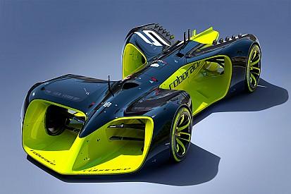 Roborace rivela la concept car da corsa a guida autonoma