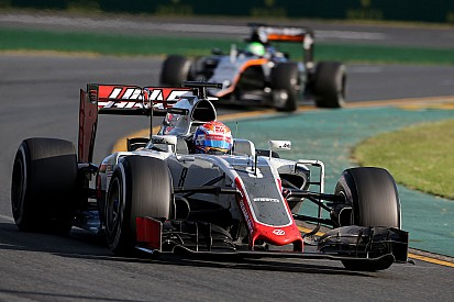 """Grosjean: """"Dit is één van de beste auto's waarmee ik ooit heb gereden"""""""