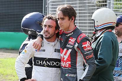 """Gutiérrez veut """"voir le côté positif"""" de l'accident avec Alonso"""