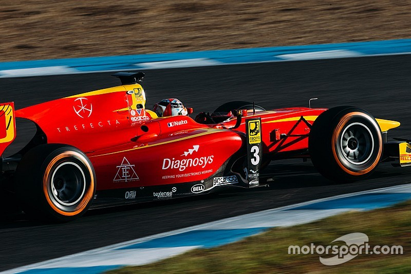 Nato completa el dominio de Racing Engineering en los test de Jerez