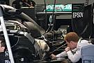 Mercedes: abbassato lo scambiatore di calore dell'ERS