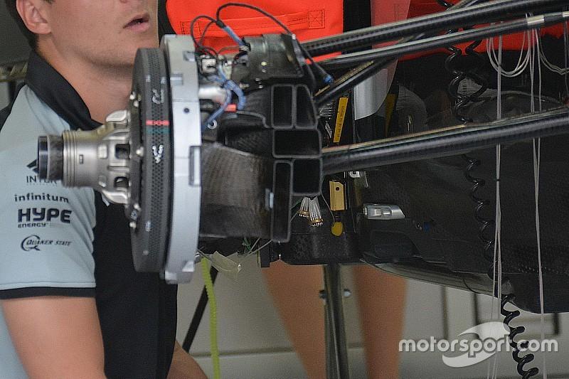 Formel-1-Technik: Force India ab sofort mit angeblasener Vorderachse