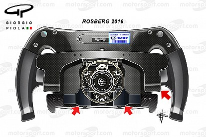 Formel-1-Technik: Nico Rosbergs Lenkrad