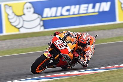 Marquez lidera sexta na Argentina; Lorenzo é apenas 14º