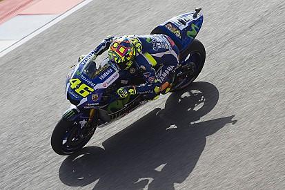 """Valentino: """"Con la pista scivolosa la Yamaha va in difficoltà"""""""