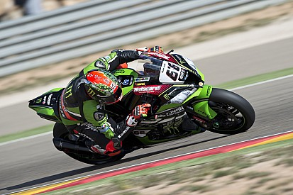 Aragon WSBK: Sykes on pole, Yamahas complete front row
