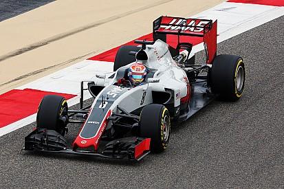 Haas: l'ala anteriore rotta per un errore di fissaggio