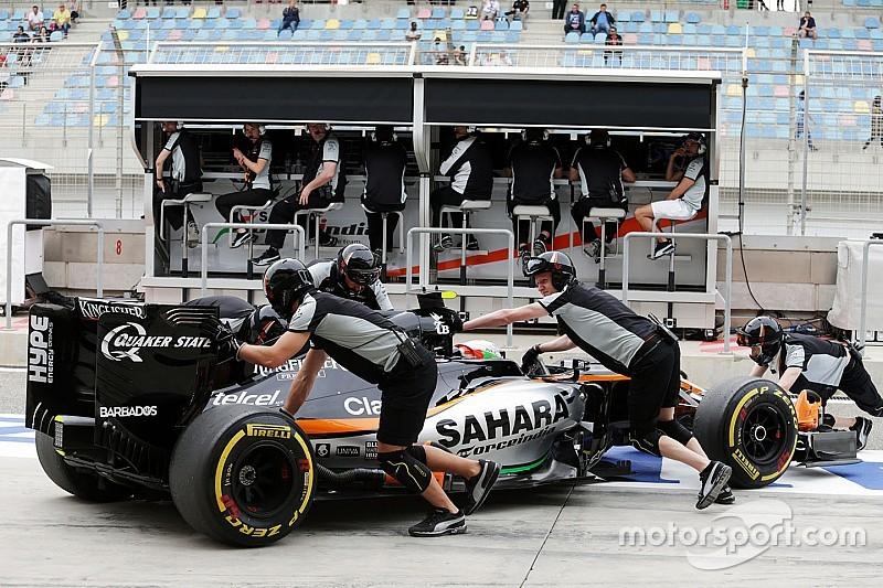 Force India balaie de nouveau les inquiétudes