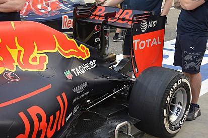 Technique - L'aileron arrière de la Red Bull RB12