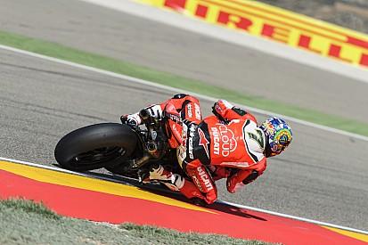 Chaz Davies e la Ducati incontenibili in gara 1 ad Aragon