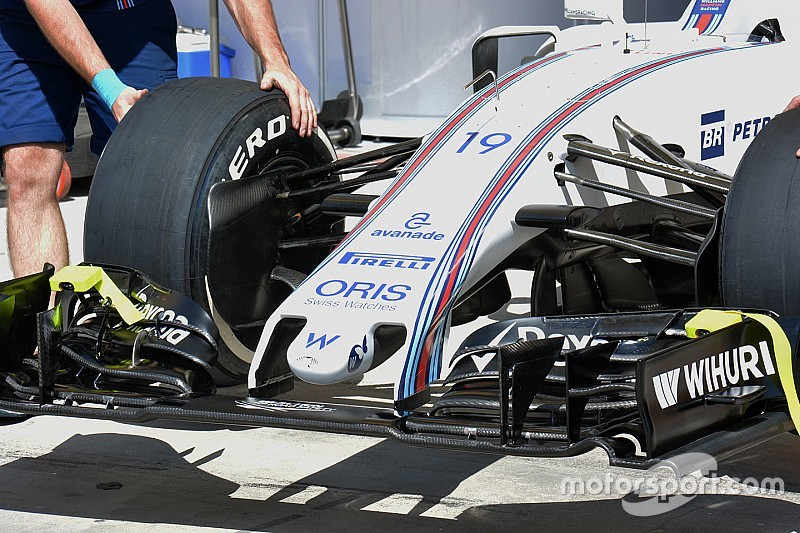 Williams revela bico ultracurto para carro de Felipe Massa