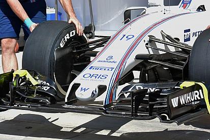 Williams revela su nueva nariz ultra corta