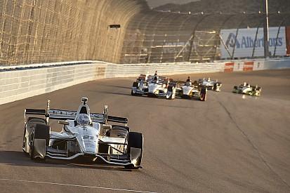 La grille de départ de la manche d'IndyCar de Phoenix