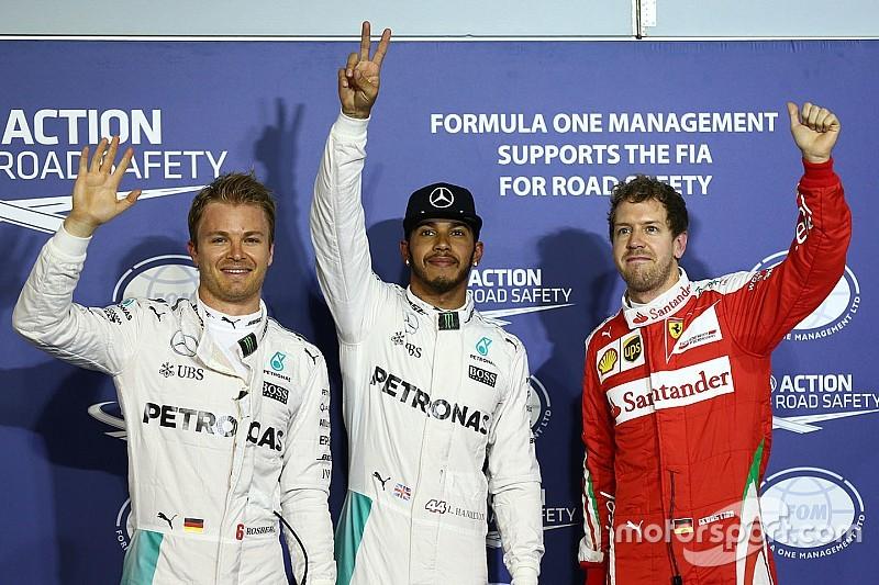 巴林大奖赛排位赛:汉密尔顿蝉联杆位