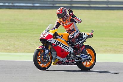 Em treino tumultuado, Marquez é pole na Argentina