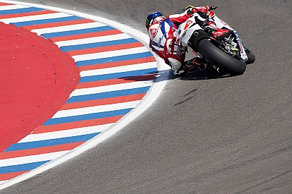 Pole di cattiveria per Sam Lowes in Argentina