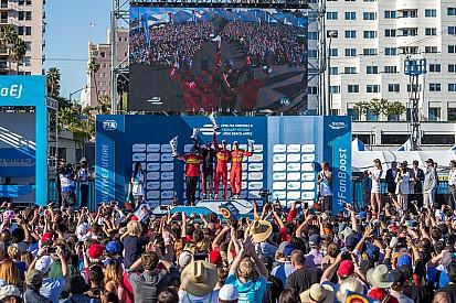 长滩ePrix:迪格拉西赢乱战,对手麻烦不断