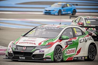 Huff gana en su debut con Honda