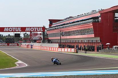 Treino extra da MotoGP é cancelado por causa do mau tempo