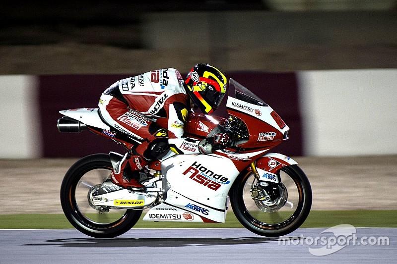 Contundente primera victoria del malayo Pawi en Moto3