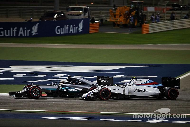 """Hamilton: """"Mi coche estaba muy dañado"""""""