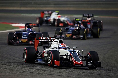 """Grosjean: """"Vijfde in een normale race is fantastisch"""""""