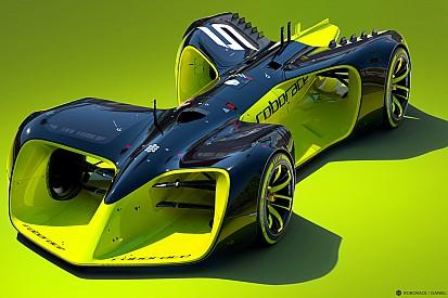 Roborace revela el tamaño de los autos y al proveedor de motores