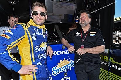 Андретти стал быстрейшим на тестах в Индианаполисе