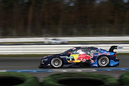 Mattias Ekström snelste op derde DTM-testdag