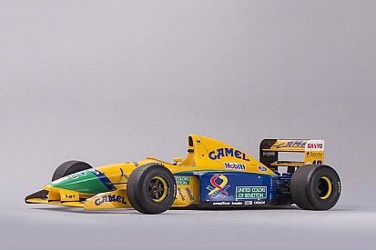 All'asta la Benetton B191B di Michael Schumacher