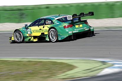 DTM-Test Hockenheim: Rockenfeller holt für Audi letzte Tagesbestzeit