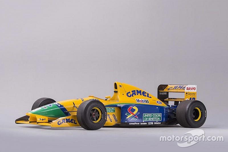Benetton histórica de Piquet e Schumacher vai a leilão